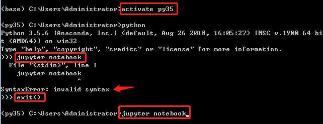 【問題解決方案】從 Anaconda Prompt 或 Jupyter Notebook 終端進入Python後重新退出到命令狀態 - IT閱讀