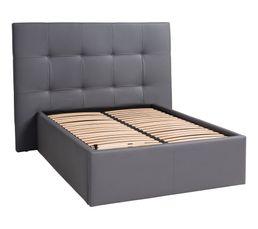 tete de lit pu l 200 cm dream home gris