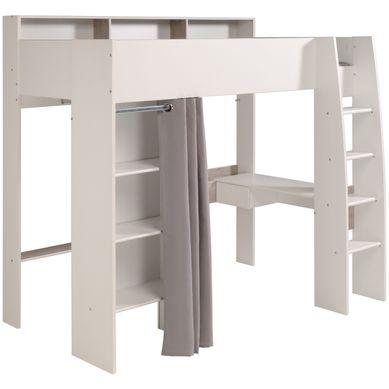 lit mezzanine avec rangement venus et