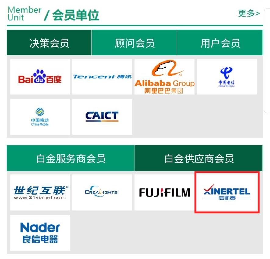 信而泰正式加入中國通信標準化協會與開放數據中心委員會 - 測試儀表 — C114通信網
