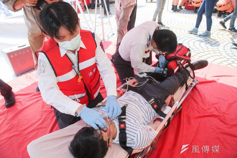 八仙樂園塵爆周年》北市緊急救護學院 全臺首座高擬真訓練場所-風傳媒