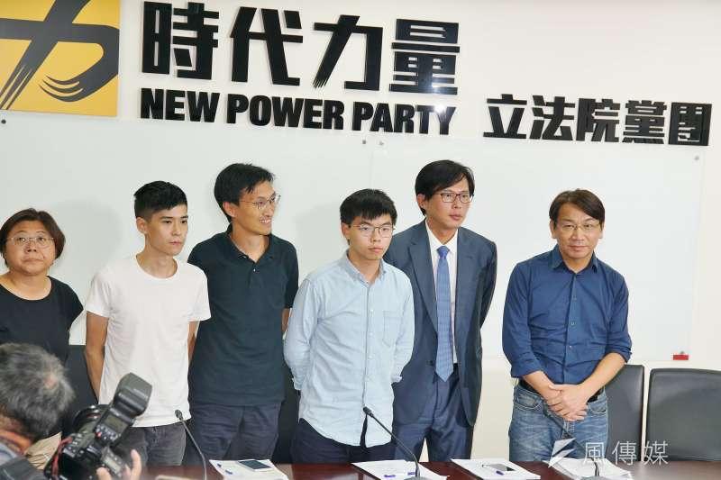黃之鋒向臺灣民眾喊話:盼在中共國慶前 以街頭行動表達對香港的支持-風傳媒