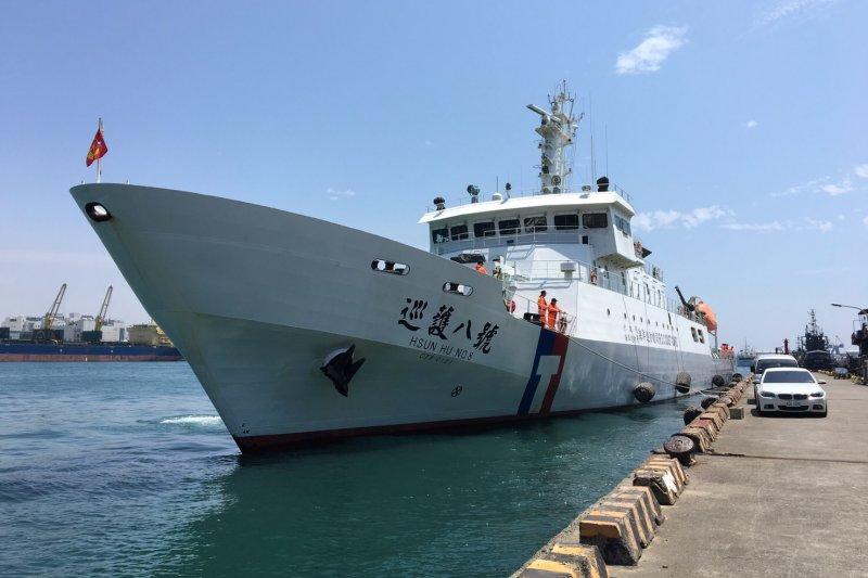 捍衛主權和漁權 蔡英文總統:推動海巡署組織強化和人力素質-海巡署|漁權-風傳媒-中央社