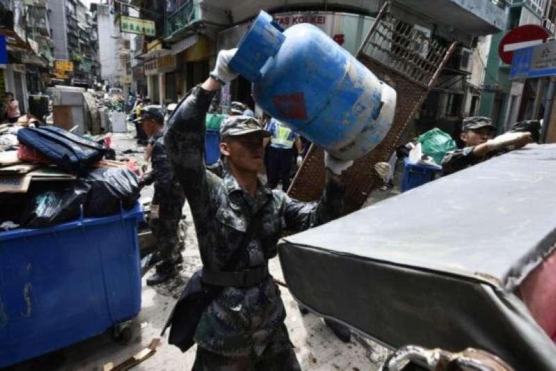 強颱「天鴿」重創澳門 中國首次批準解放軍介入救災工作-風傳媒