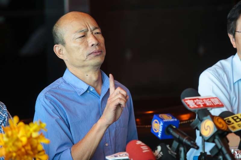 韓國瑜喊出「在太平島開發石油減債」 陳水扁嗆國際詐騙集團-風傳媒