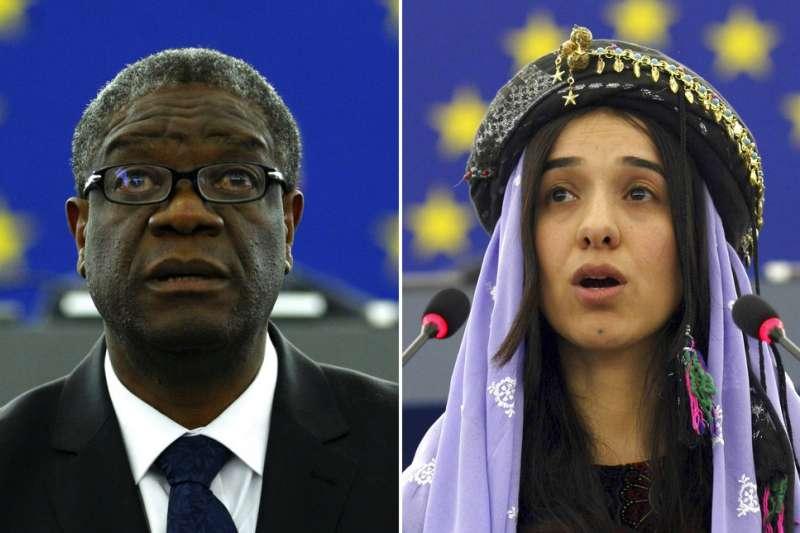 「性罪犯必須被起訴,世界才會有和平」#MeToo一周年這天,反性暴力的他們拿下諾貝爾和平獎!-風傳媒