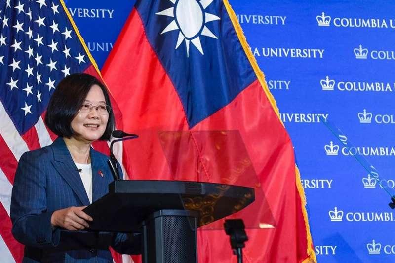 哥倫比亞大學介紹「臺灣總統蔡英文」中國校友集體崩潰:第一次對「母校」失望-風傳媒