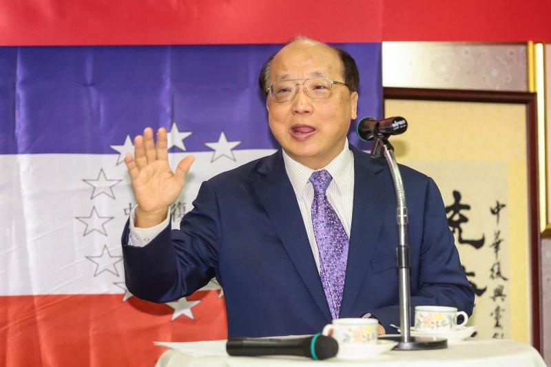 中華復興黨成立 胡志強,郁慕明出席為朱立倫拉票-風傳媒