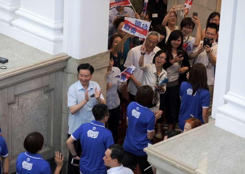 接見世大運英雄 蔡英文讚郭婞淳:妳的這一舉,讓臺灣人都團結起來-風傳媒