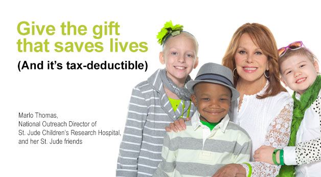 Give the gift that saves lives (And it's tax-deductible)