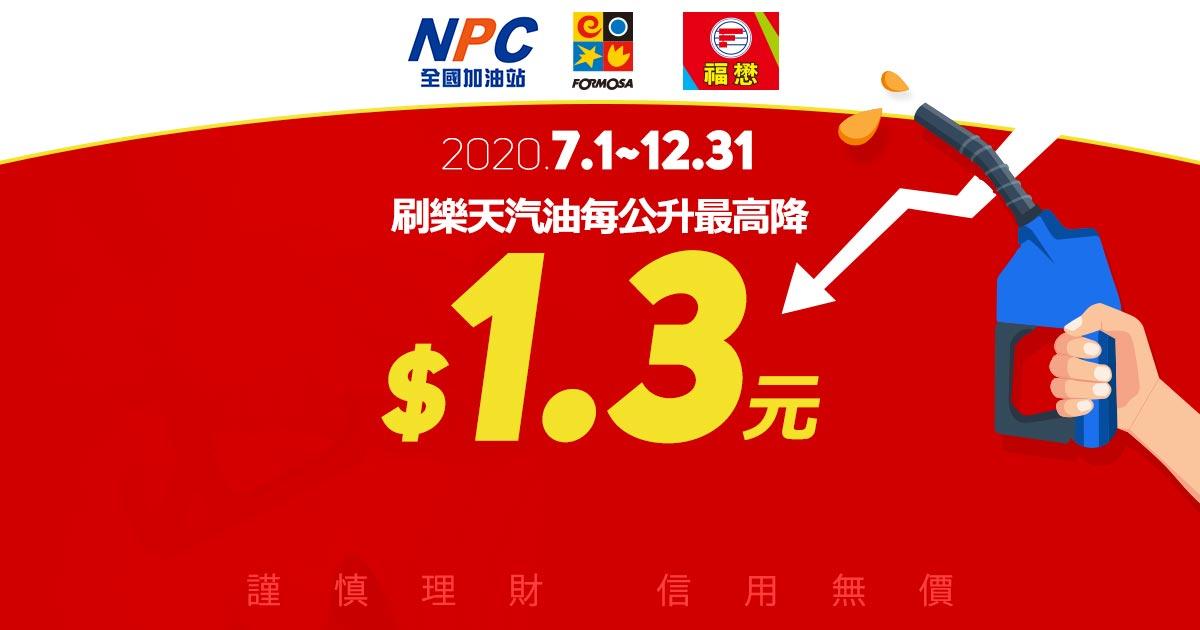 【好油欲呀!怎麼辦】臺亞,全國及福懋汽油每公升最高降1.3元油~