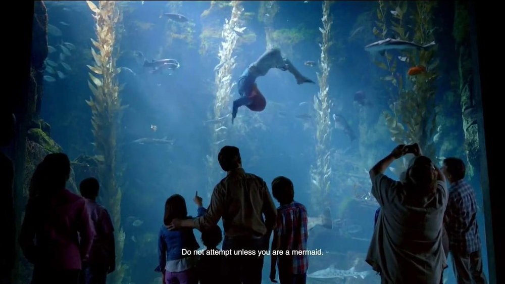 Disney Parks TV Spot, 'Disney Side: Under the Sea' - Screenshot 6