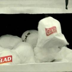 Glad Kitchen Bags Deep Sink Forceflex Tv Commercial, 'stretch It, Kick It' - Ispot.tv