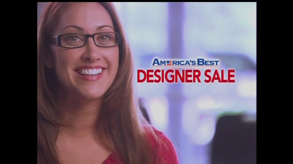Americas Best Contacts and Eyeglasses TV Commercial For Designer Sale  iSpottv