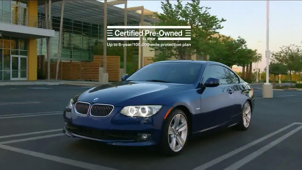 Bmw Certified Preowned Sales Event Tv Commercial  Ispottv