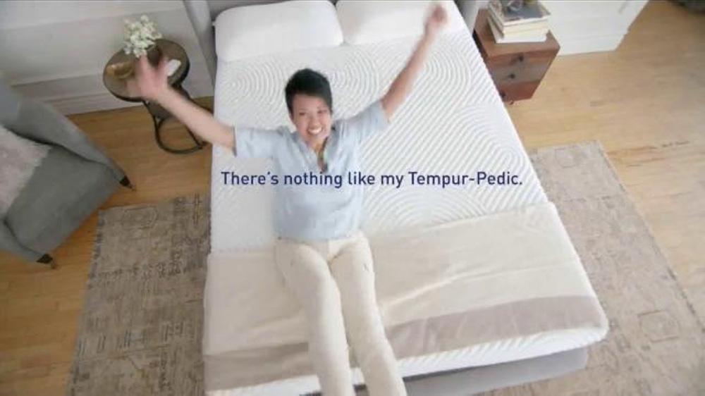 TempurPedic TV Commercial Naturally Comfortable  iSpottv