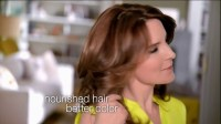 pictures of tina fey commerical for garnier hair color ...