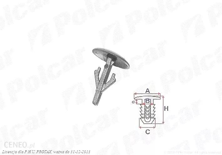 Spinka Montażowa Mazda 626 (Gd/Gv) Sedan//Hatchback//Coupe