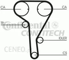 Mechanizm rozrządu Rozrząd pompa wody Opel Meriva 1.6