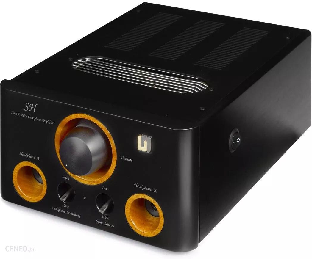 Wzmacmiacz audio Unison Research SH czarny - Opinie i ceny na Ceneo.pl