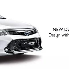 All New Camry 2017 Indonesia Harga Toyota Yaris Trd Exhaust Simulasi Kredit Promo Dp Cicilan Murah Cermati Desain