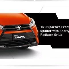 Toyota Yaris Trd Sportivo Bekas Bandung Grand New Avanza E 2017 Simulasi Kredit Promo Dp Harga Cicilan Murah Cermati Desain