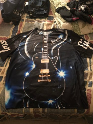 Love Guitar 3D All Over Printed Clothes BC749 photo review