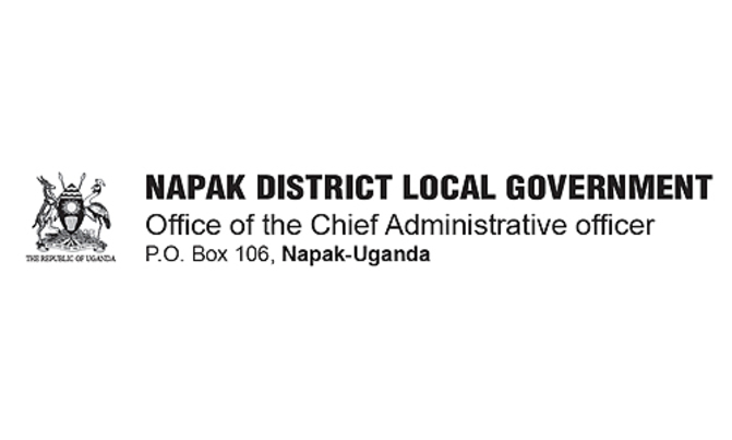 Notice From Napak District Local Government