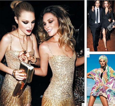 H&M은 매년 유명 디자이너와 협업해 생산한 제품을 한정 판매하는 방식으로 소비자들 관심을 끌어모았다. ①2007년 이탈리아 디자이너 로베르토 카발리와 협업한 여성용 원피스. ②2009년 구