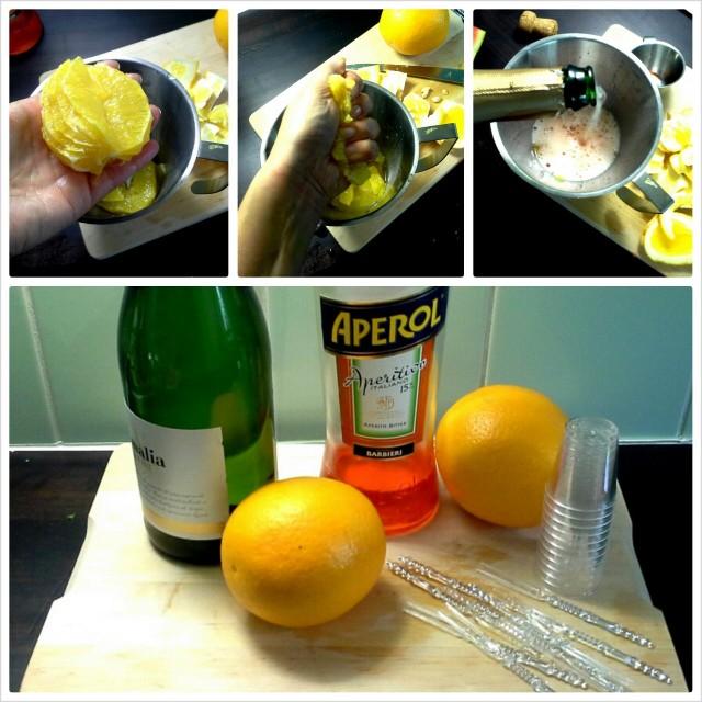 Jos appelsiinin filerointi hirvittää, jätä se väliin ja käytä pelkkää mehua.