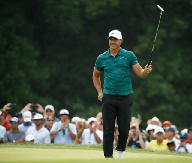 Brooks Koepka Shown At The Pga Championship Two Weeks Ago Is In The Field