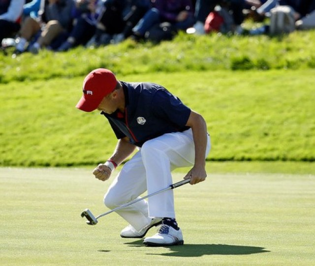 Justin Thomas Shown At The Ryder Cup Last Week Is In The Field For