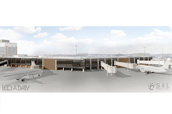 Akron Canton Airport Starts Construction On New Gate Area