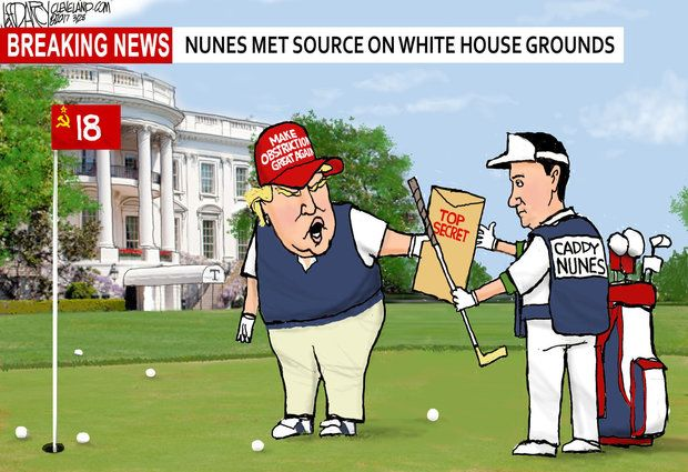 Image result for cartoons about devin nunes