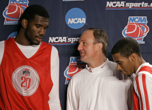 Image result for Thad matta and greg oden