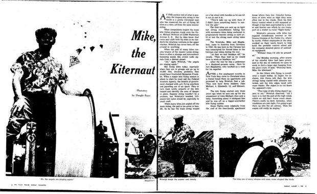 Mike 'the Kiteman' Weletyk of Watterson & 123rd: Cleveland
