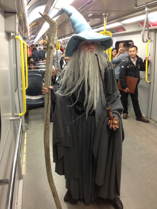 Gandalf der Graue Kostm