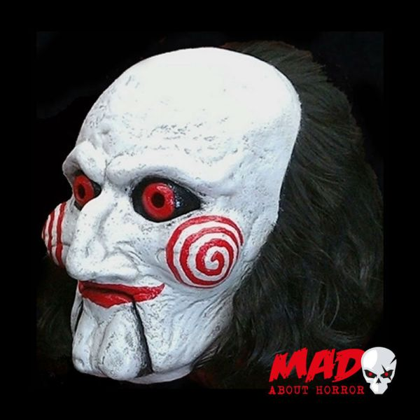 Official Jigsaw Billy Puppet Latex Collectors Mask