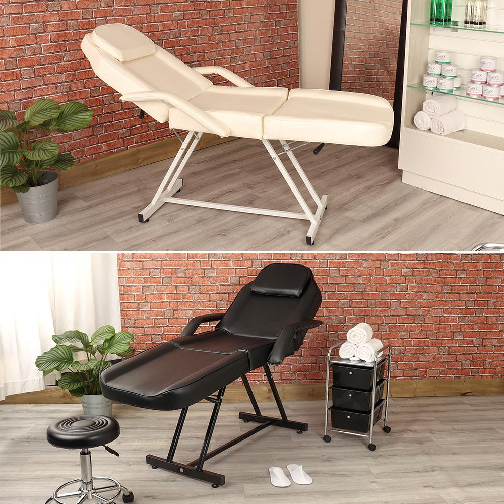 Massage Therapist Chair Details About Wido Manual Cream Black Massage Couch Bed Beauty Therapist Treatment Chair