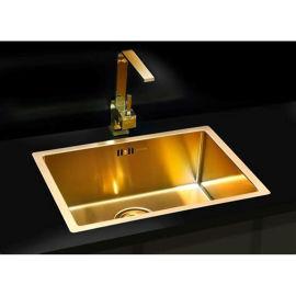 copper sink kitchen small appliance 黄铜水槽手工制作纯铜水槽别墅酒店厨房定制 价格 厂家 求购 什么品牌
