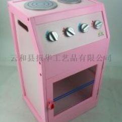 Wood Kitchen Playsets Cream Colored Painted Cabinets 木制厨房套装灶台烤炉玩具 价格 厂家 求购 什么品牌好 中国制造网