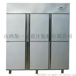 Commercial Kitchen Doors Double Sinks For Sale 商用厨房设备制冷设备保鲜冷藏设备山西六门冰箱厂家 批发价格 山西装一装 商用厨房设备制冷设备保鲜冷藏设备山西六门冰箱