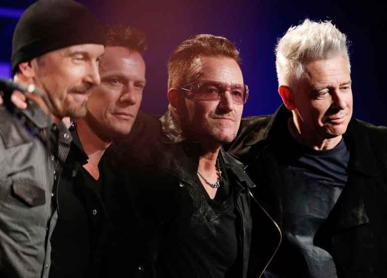 Reusable: U2 band musicians music group
