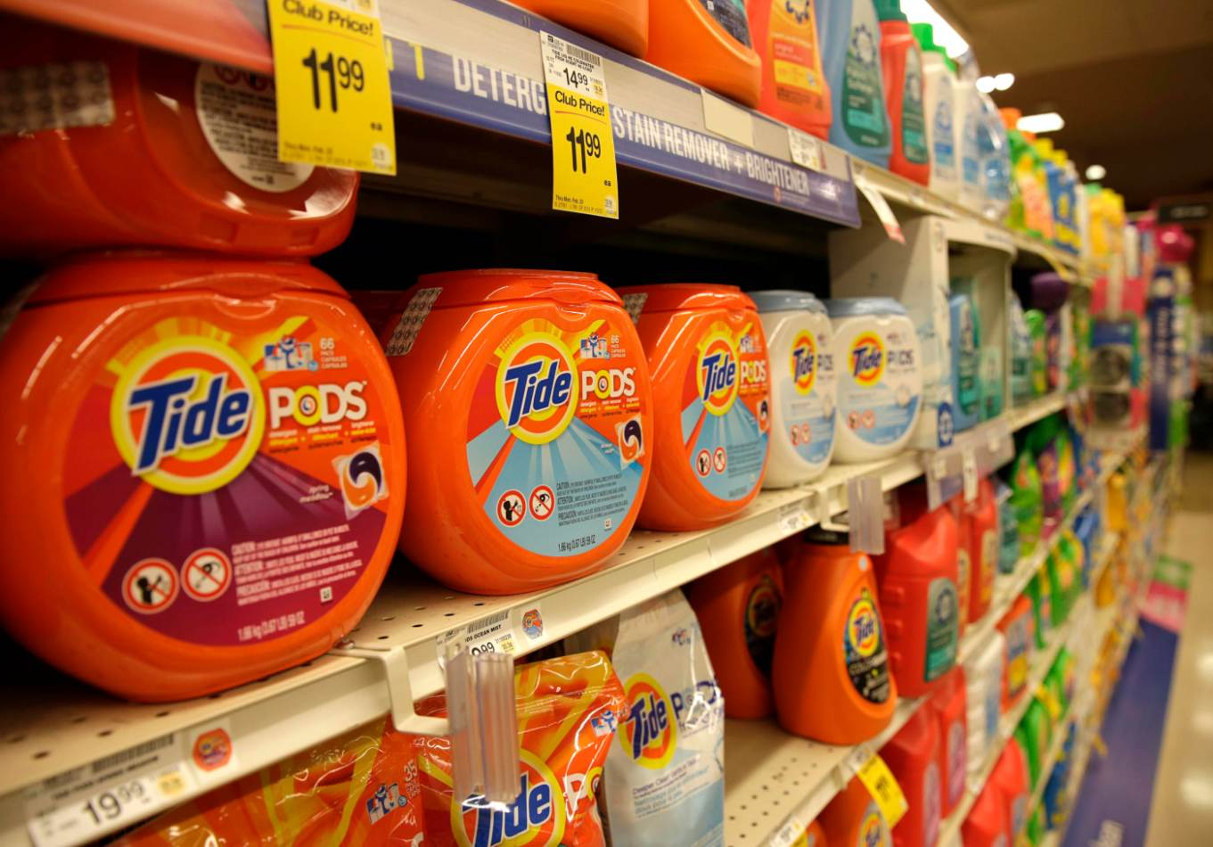 People are eating Tide laundry pods and this is what P&G is doing