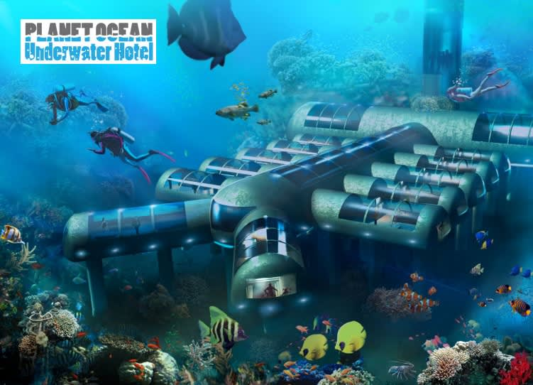 Ultimate Dream Escape Underwater Luxury Hotel