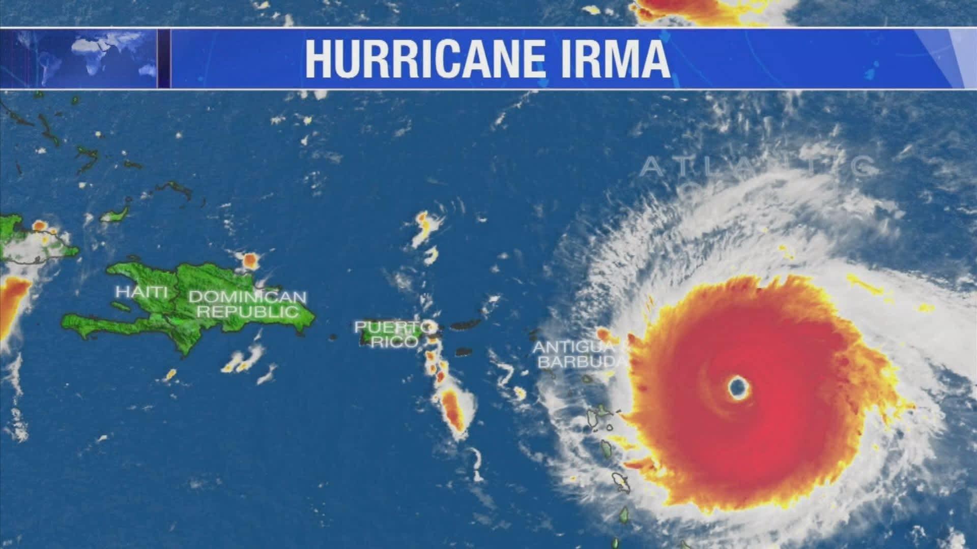 what hurricane irma means