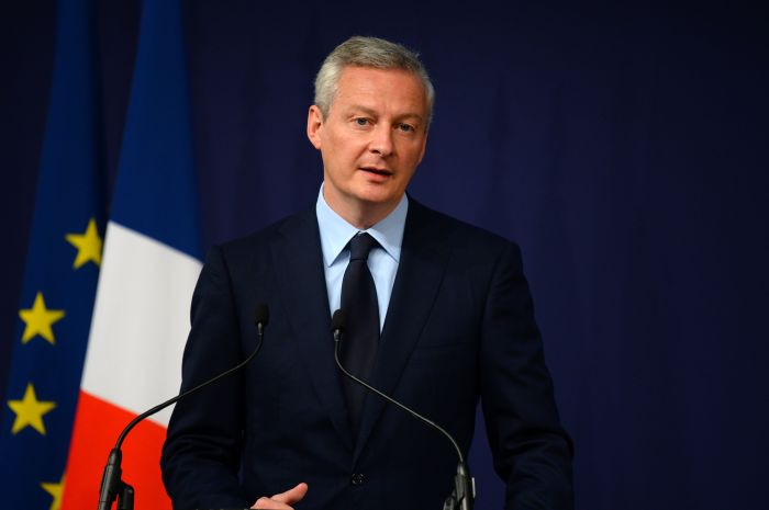 GP: French Economy Minister Bruno Le Maire