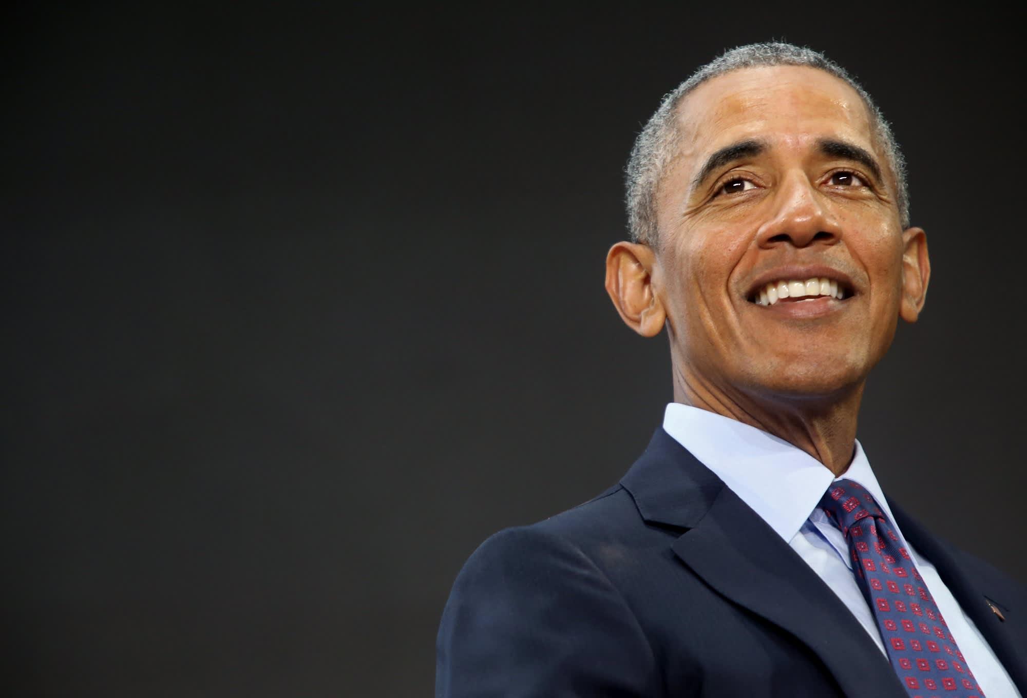 Sub: Barack Obama Goalkeepers smiling 20170920
