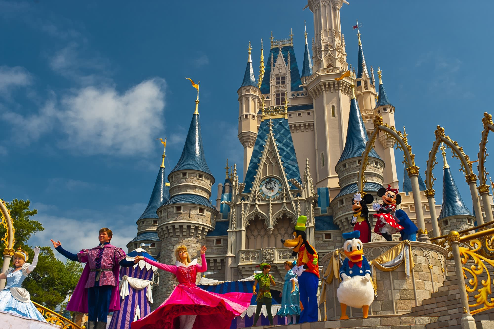 Secret Hotel Suite Cinderella' Castle In