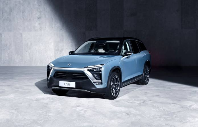 nio, chinese electric car company, files to go public